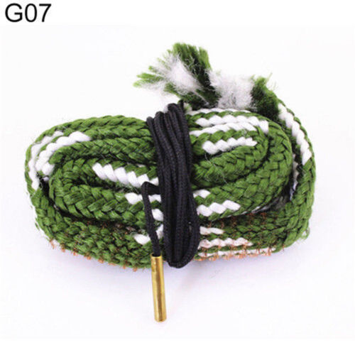 Gun Bore Snake String Cleaner Cleaning Calibre Borebrush Hunting Acces Kit New 12