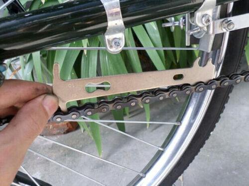 1Stk Fahrrad Kettenverschleiss Kettenverschleißlehre Messlehre Werkzeu YR