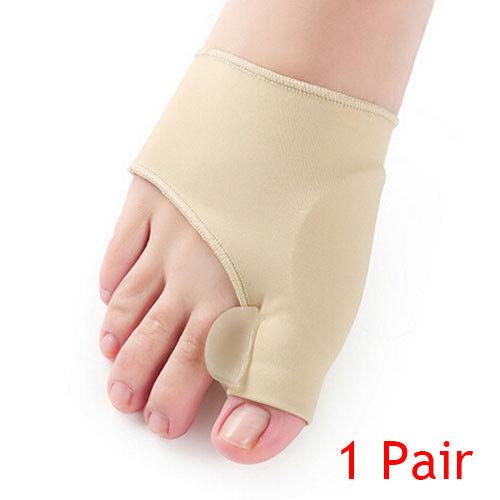 7PCS CO_Straightener Bunion Hallux Valgus Corrector Toe Pain Relief Splin YUP