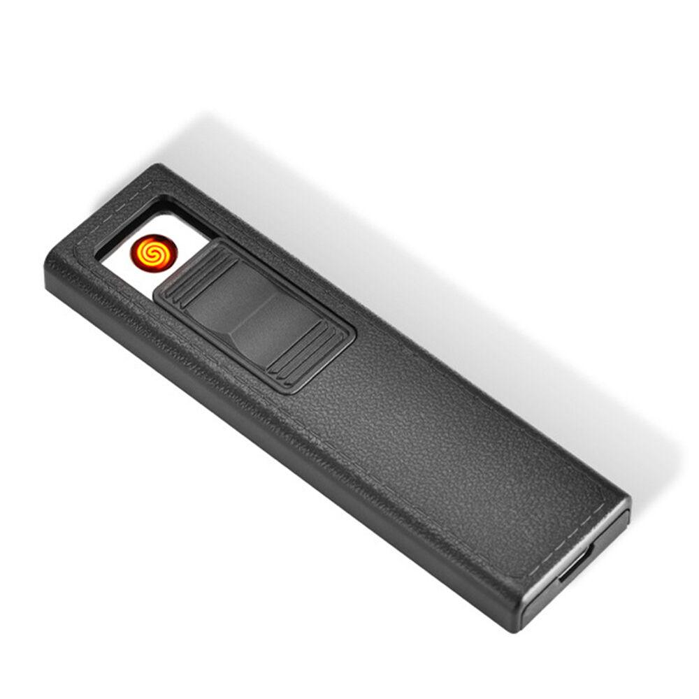 Men Cigarette Holder Case Box With Windproof Removable USB Charging lighter CAL 7