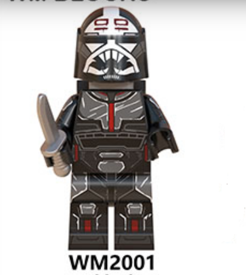 Details about  /Minifigures Custom MOC Star Wars Rex Fox Wolfpack StormTrooper /& Weapons 2020