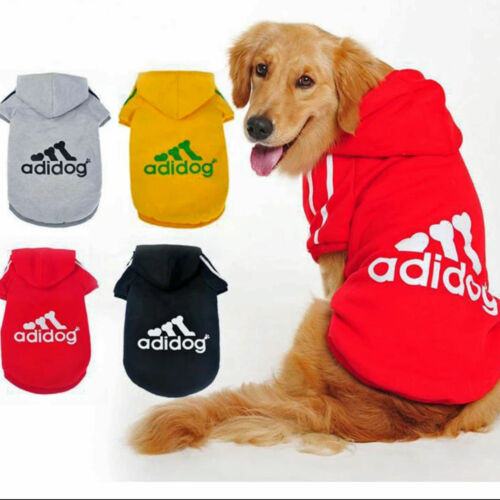 Small Cute Pet Dog Cat Clothes Puppy Warm Sweater Hoodie Coat Costume Apparel 2