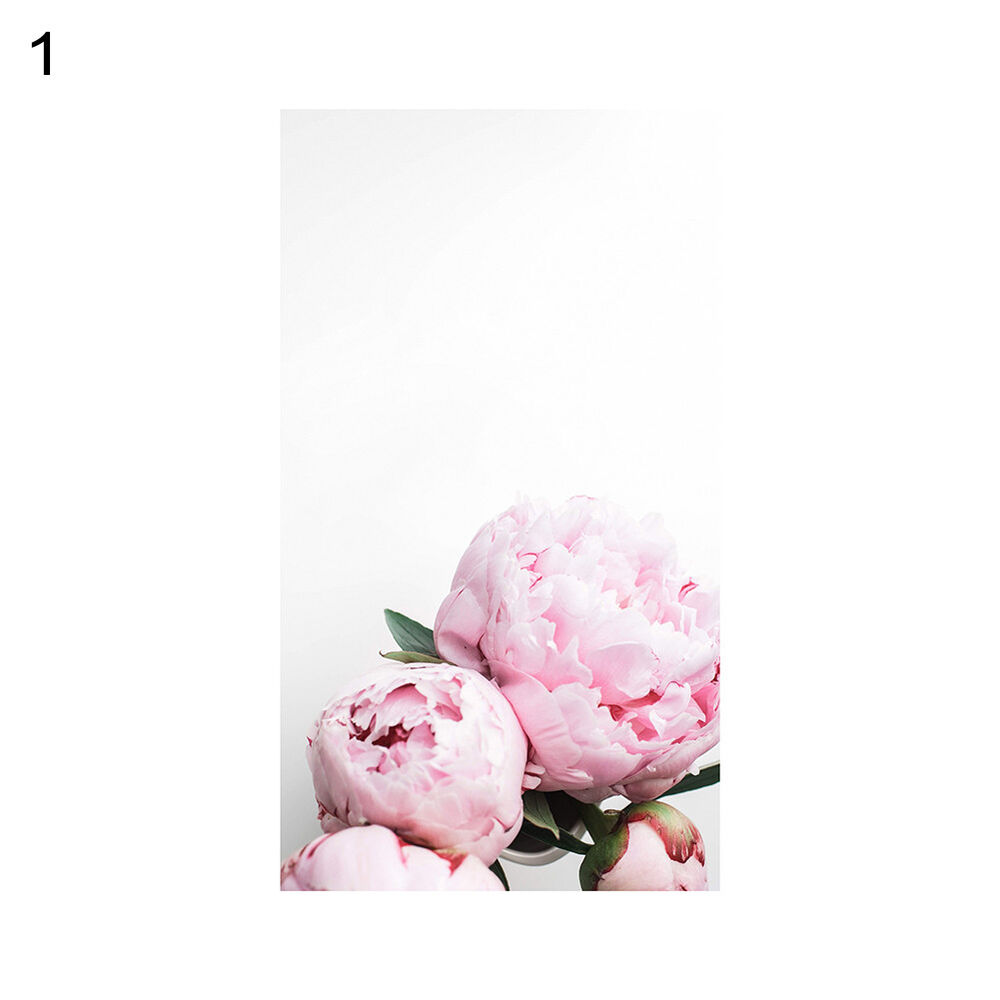 Unframed Modern Peony Art Canvas Painting Picture Print Home Wall Decor Opulent 7