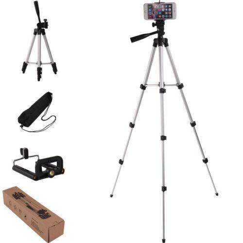 Professional Camera Stand Support Trépied pour Téléphone iPhone Samsung + Sac 7