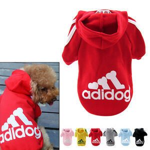 Lässige Kleine Pullover Gr. XXL-9XL für Hunde und Katzen Hoodie Kapuzen Dogbaby 4