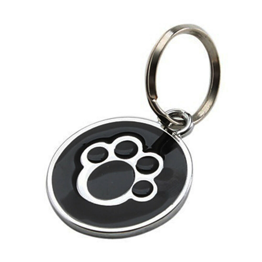 QA_ Anti-lost ENGRAVING Dog Cat ID Name Tag Disc Personalised Puppy Pet Tags E 8