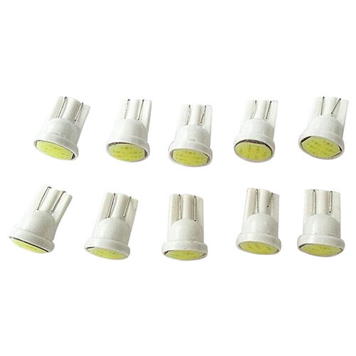 10X Practical Car White 1LED COB SMD T10 W5W Wedge Side Light Bulb Lamp 12V Chic 5