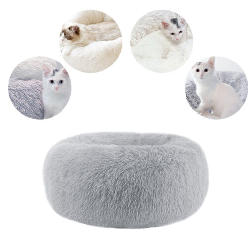 Dog Pet Cat Calming Bed Large Mat Comfy Puppy Washable Fluffy Cushion Soft Plush 6