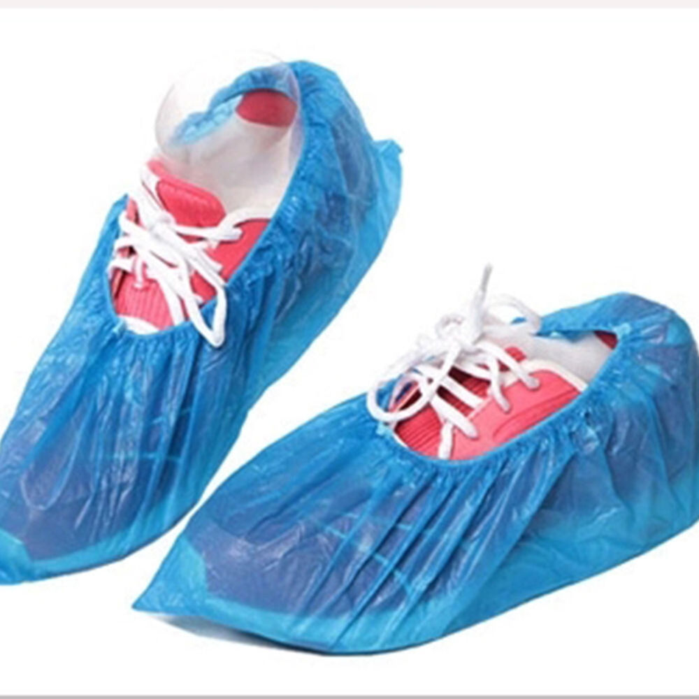 EB_ FT- 100Pcs Disposable Shoe Covers Boots Cover for Workplace Indoor Carpet La 3