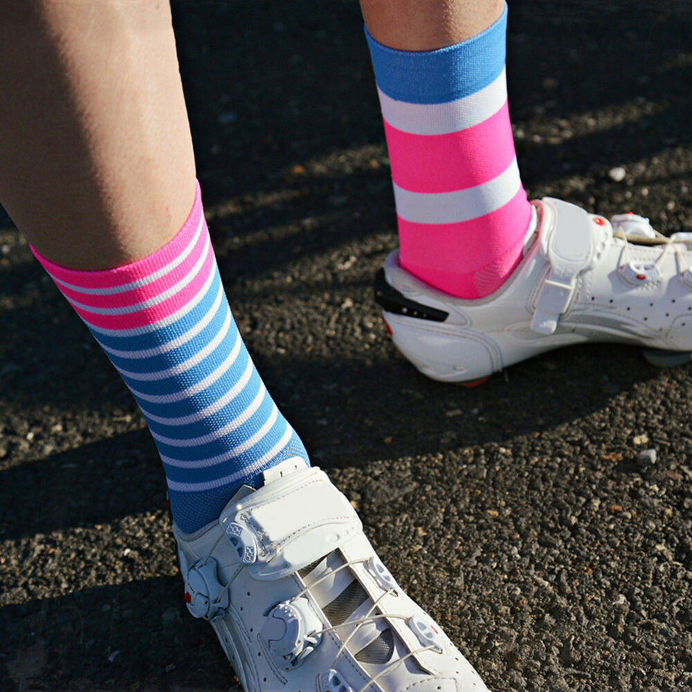Eg /_ Unisex Outdoor Sport Fahrrad Radfahren Laufen Basketball Reiten Socken Braw
