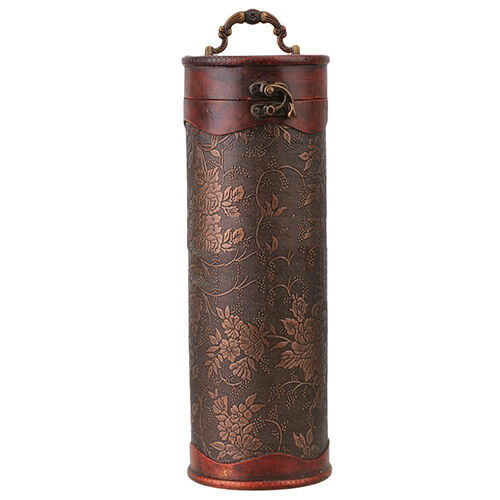 HH- Luxury Vintage Retro Wooden Wine Bottle Storage Gift Box Case Holder Hot Tre