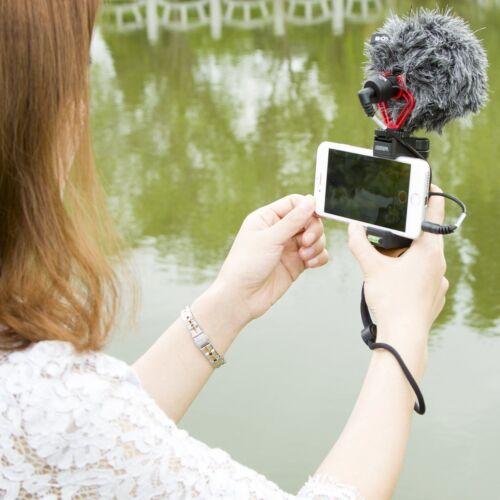 BOYA BY-MM1 Cardioid Shotgun Microphone MIC for DSLR Camera Smartphone Camcorder 5