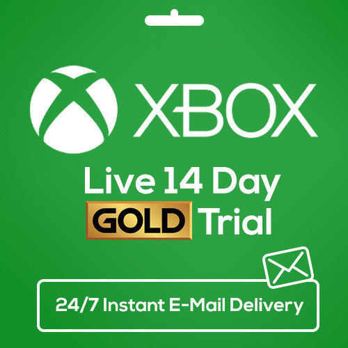 XBOX LIVE Gold 14 DayS 2 WEEKS Trial Membership Code INSTANT EMAIL DISPATCH 24/7 2