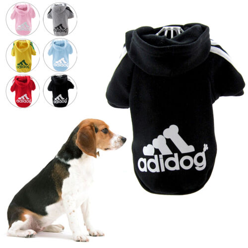 Small Cute Pet Dog Cat Clothes Puppy Warm Sweater Hoodie Coat Costume Apparel 5