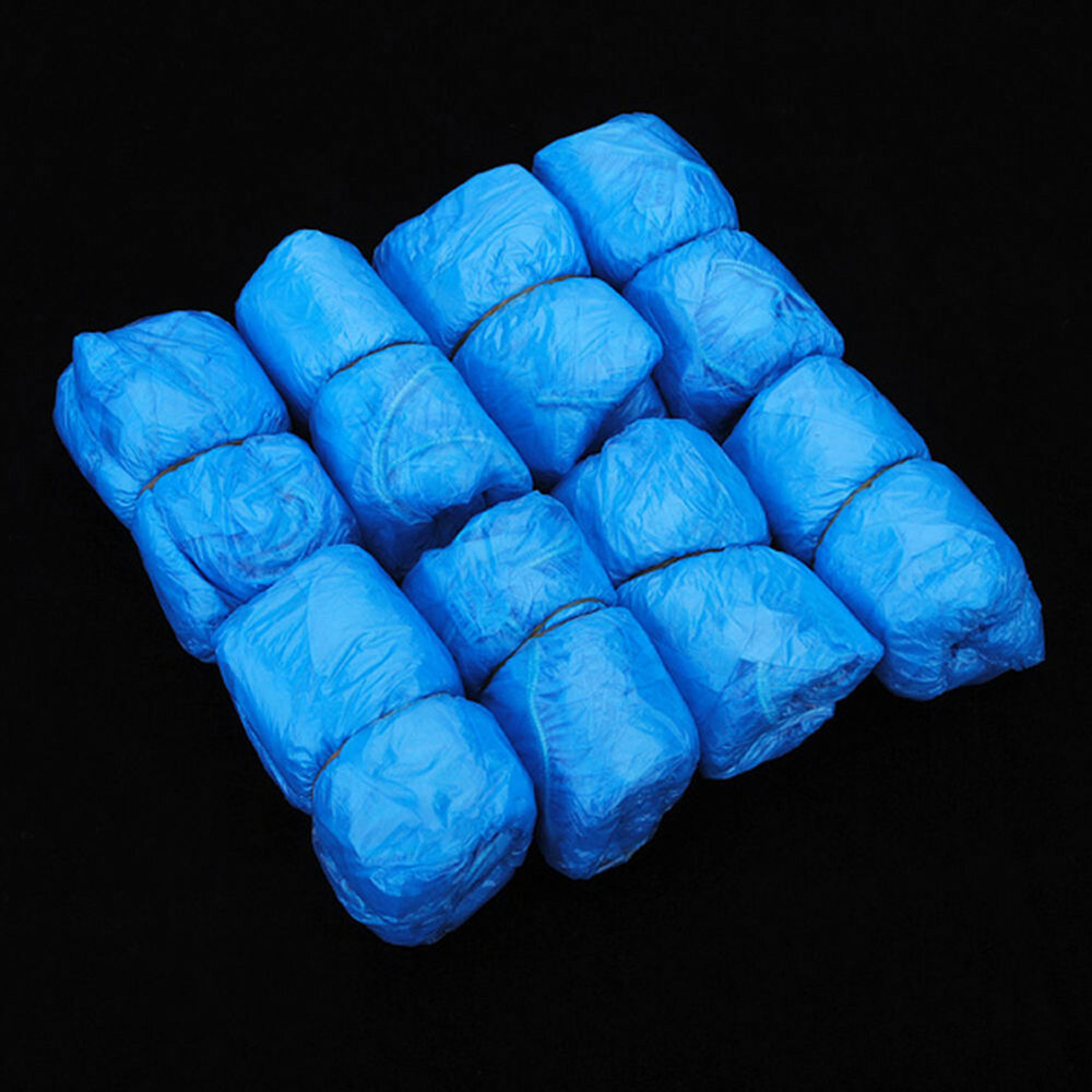 EB_ FT- 100Pcs Disposable Shoe Covers Boots Cover for Workplace Indoor Carpet La 7