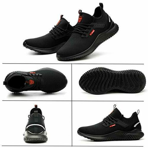 UK Safety Shoes for Men Women Steel Toe Trainers Lightweight Work Shoes Sports 5