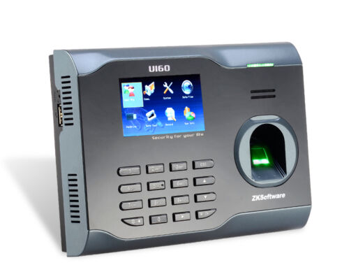 ZKTECO U160 TCP/IP Fingerprint Time Attendance ZK WiFi Fingerprint Time  Clock