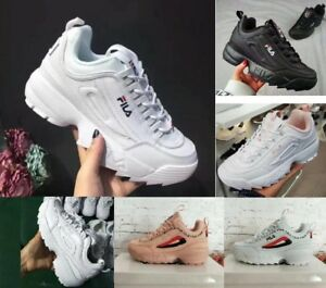 FILA Women Sneakers Sport Fitness Gym Sneakers Casual Running Shoes 2