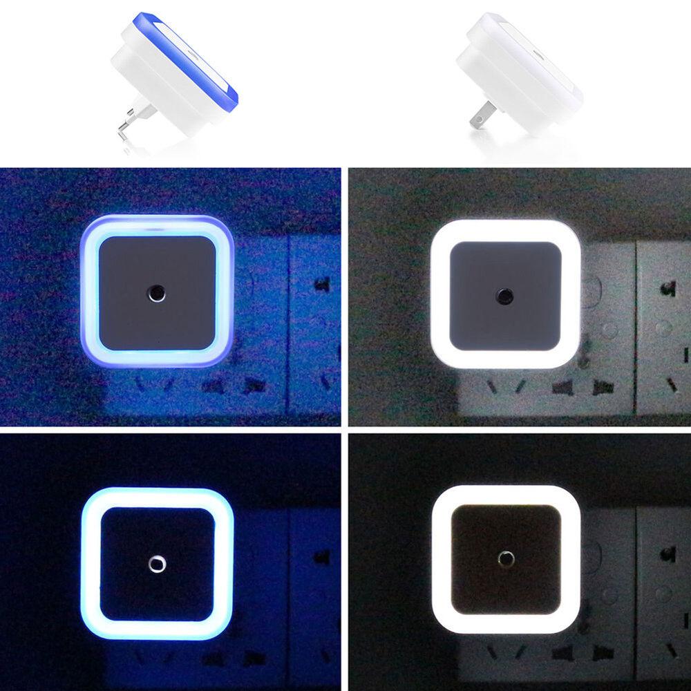 Lk _Mini LED Veilleuse Auto Capteur Contrôle Chevet Chambre Mural Monté Lampe 4
