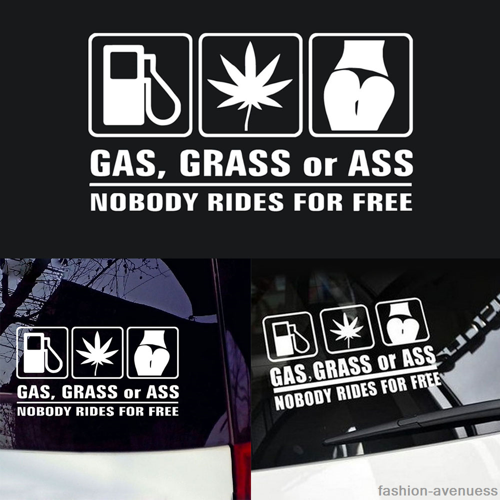 1pc funny car stickers for auto vehicle window vinyl diy decal waterproof decor 8 8 of 10