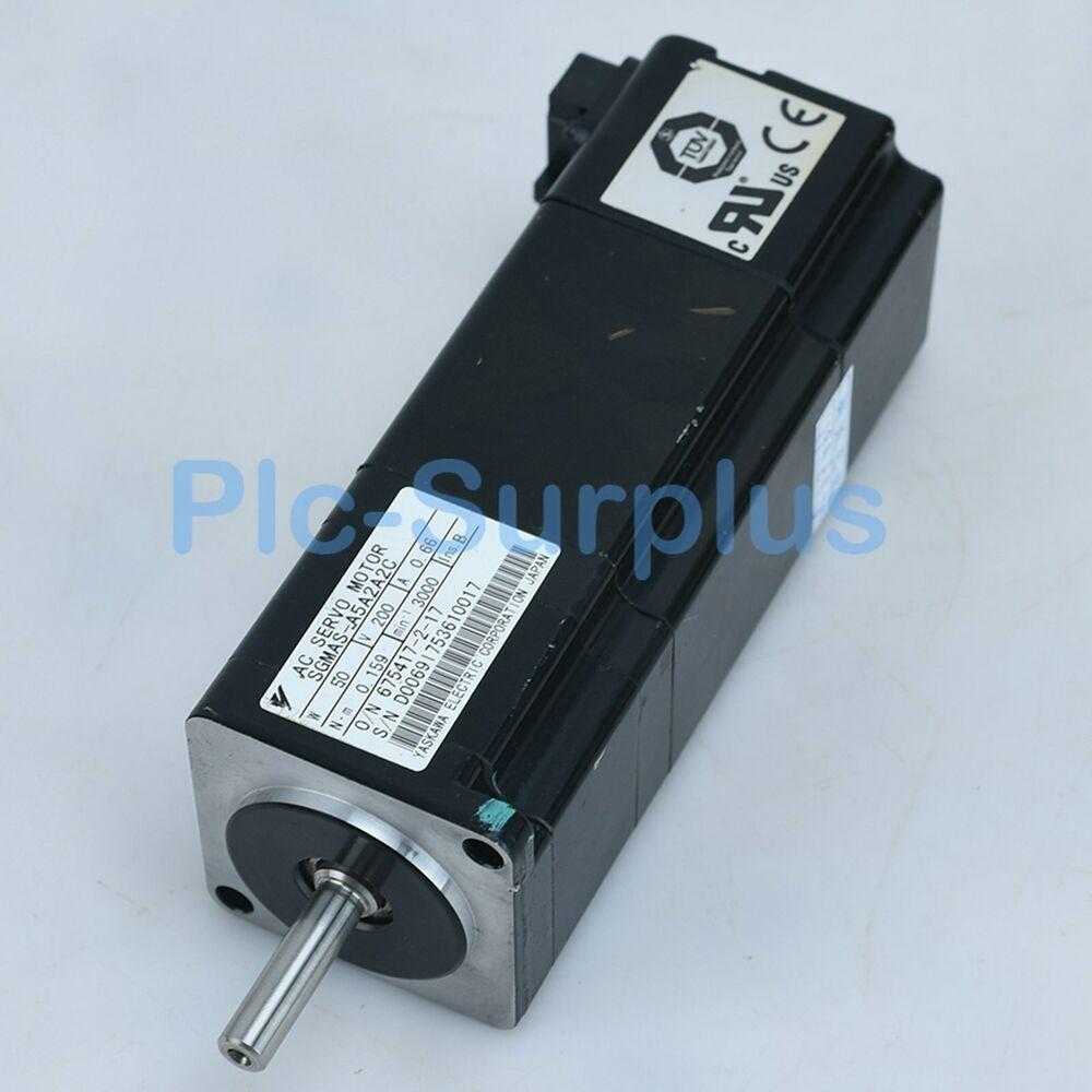 Yaskawa Used Servo Motors SGMAS-A5A2A2C SGMASA5A2A2C Tested fully 5