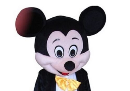 ... Crazy sale classic mickey mouse Mascot Costume dress Cartoon Only included Head  sc 1 st  PicClick & CRAZY SALE CLASSIC mickey mouse Mascot Costume dress Cartoon Only ...