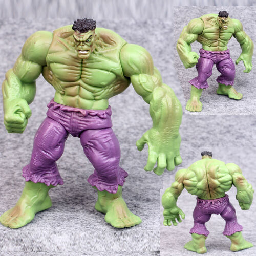 """HOT 4X The Incredible Avengers Hulk Green Red Loose Action Figure Toys UK 4.3/"""""""