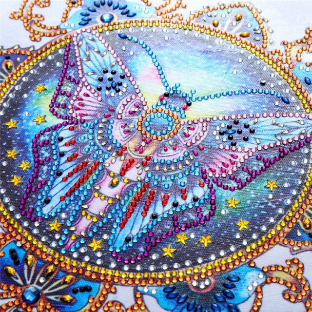 Full Drill DIY 5D Diamond Painting Embroidery Cross Crafts  Kit Decor Art .I 4