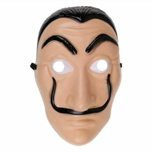 La casa di Carta Tuta La Casa de Papel Costume Cosplay Maschera Dali di Mask 12