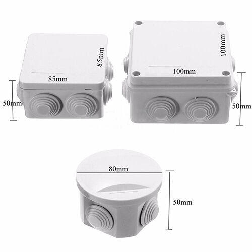 GN- CCTV Outdoor Camera Junction Box Enclosure IP55 Terminal Cable Case Eager 4