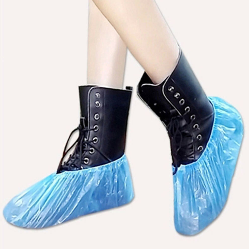 EB_ FT- 100Pcs Disposable Shoe Covers Boots Cover for Workplace Indoor Carpet La 5
