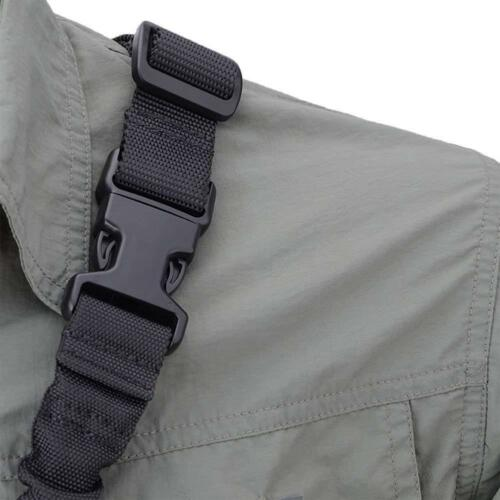 Tactical One Single Point Sling Strap Bungee Rifle Gun Sling with QD Buckle 2