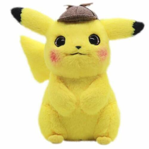 Pokémon Detective Pikachu Plüschtier Puppenkissen für Kinder Jungen Mädchen