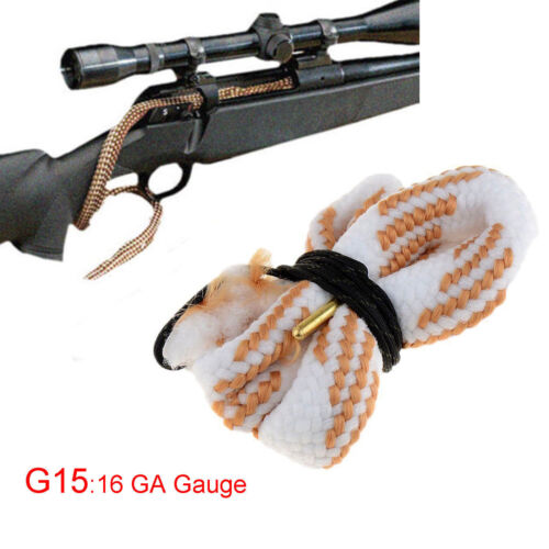 Gun Bore Snake String Cleaner Cleaning Calibre Borebrush Hunting Acces Kit New 11