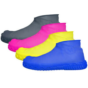 1Pair Silicone Rain Waterproof Shoe Covers Reuse Boot Cover Protector 5