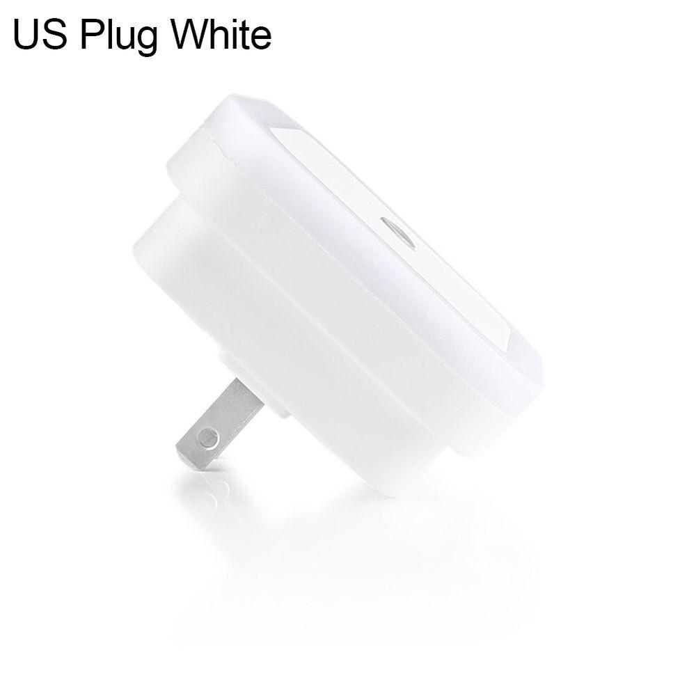 Lk _Mini LED Veilleuse Auto Capteur Contrôle Chevet Chambre Mural Monté Lampe 10