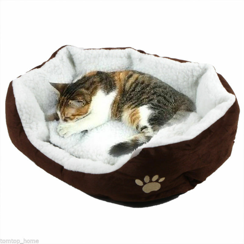 Indoor Pet Dog Cat Bed Puppy Cushion House Soft Warm Kennel Mat Blanket Washable 3