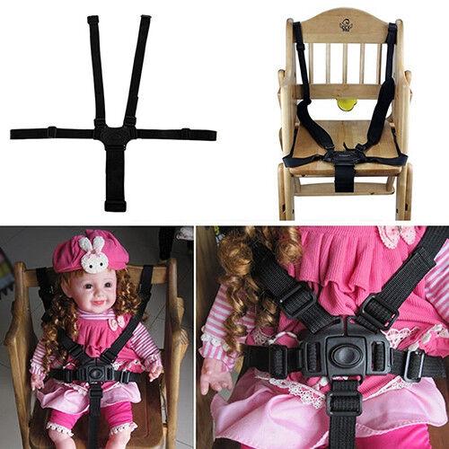 Eg _ Bébé 5-Point Harnais de Sécurité Ceinture pour Poussette Chaise Haute 2