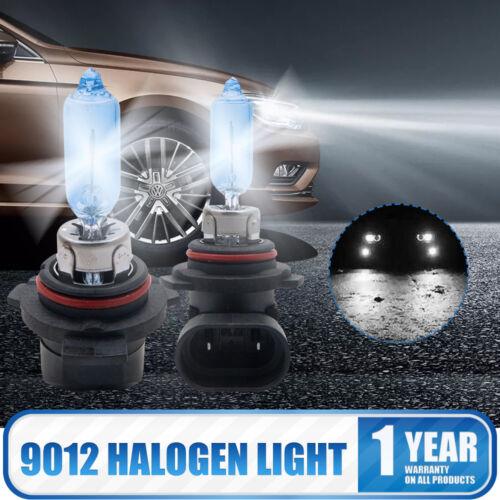 2PCS 9012 HIR2 PX22D 9012LL 12V 55W 5500K Super blanc halogènes Phares Lampe 3