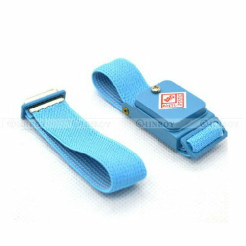 Anti Static Cordless Bracelet ESD Discharge Cable Wrist Strap Cool BlueTBPJKS*