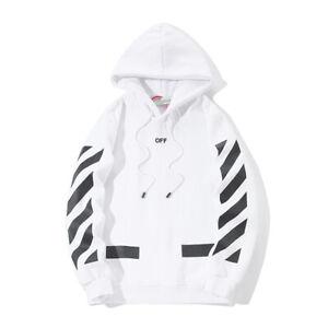 Neu HerrenDamen OFF WHITE X CHAMPION AW Hoodie Sweatshirt