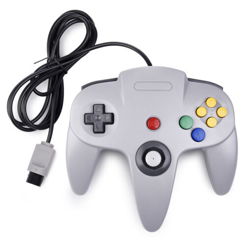 Controller Joystick Gamepad Controllers for Classic N64 Console Video Games 1x2x 5