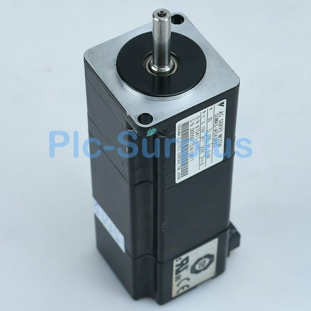 Yaskawa Used Servo Motors SGMAS-A5A2A2C SGMASA5A2A2C Tested fully 4
