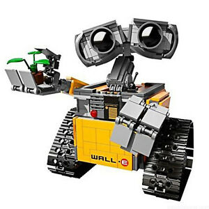 Wall.E Robot mobilisiert Wali Robot Building Block Spielzeug Eva Handmade Toys