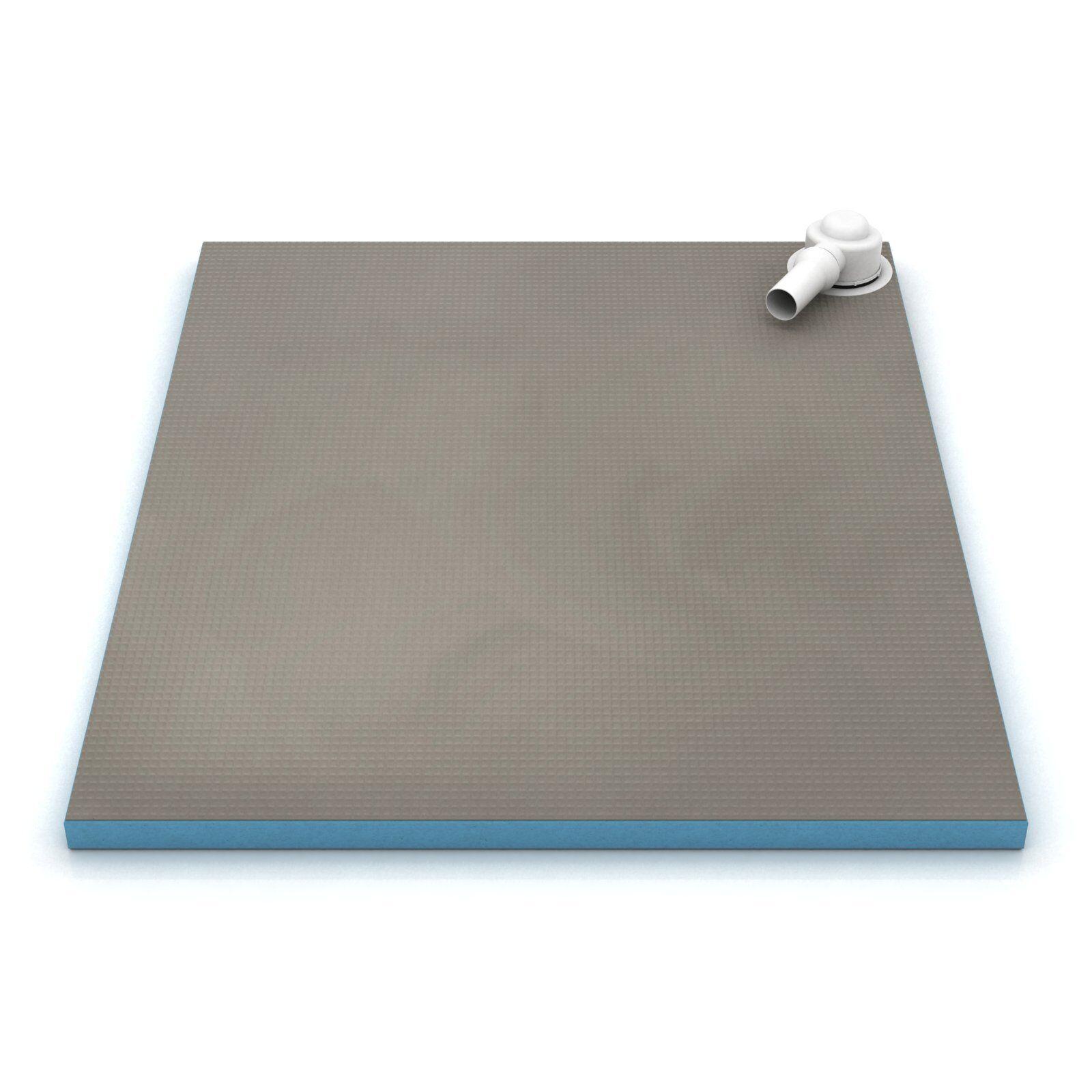 duschelement profi mit eckablauf befliesbar bodeneben duschboard duschtasse eur 132 83. Black Bedroom Furniture Sets. Home Design Ideas
